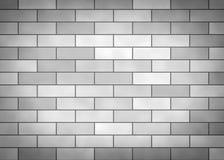 Grey brick wall Royalty Free Stock Photos
