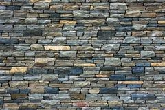 Grey brick wall as background. Royalty Free Stock Photo