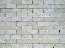 Grey brick wall Stock Image