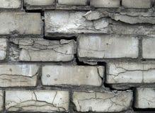 Grey brick wall background Stock Photography