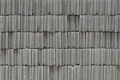 Grey brick wall Stock Photography