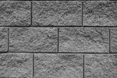 Grey Brick Wall. Background With a Texture Stock Image