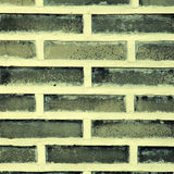 Grey brick wall for background or texture Royalty Free Stock Images