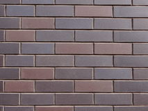 Grey brick wall Royalty Free Stock Image