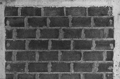 Grey Brick, wall pattern, seamless texture Royalty Free Stock Images