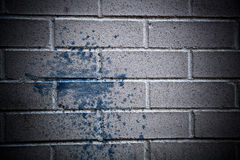 Grey Brick wall texture Royalty Free Stock Images