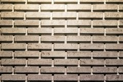 Grey brick wall texture abstract background or texture Stock Images