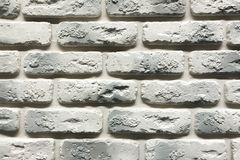 Grey brick wall texture background. Tiled with cope space.  stock images