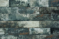 Grey brick wall texture background. Tiled. Stock Photography