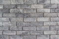 Grey Brick Wall Texture. Royalty Free Stock Photography