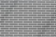 A GREY BRICK WALL Stock Image