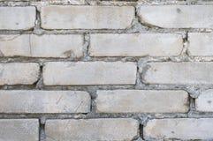 Grey brick wall for wallpaper Royalty Free Stock Photos