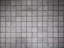 Grey bricked wall Stock Photography