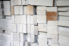 Grey bricks Stock Photos