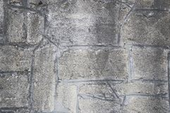 Grey bricks. Old grey bricks stone texture can be used as texture Stock Photo