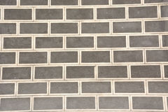 Grey brickwall stock photo