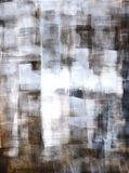 Grey and Brown Abstract Art Painting Royalty Free Stock Photography
