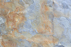 Grey and brown block of shale stone texture Stock Images