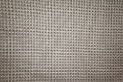 Grey brown color tone Pattern of wickerwork background Royalty Free Stock Photography
