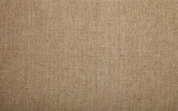 Grey brown flax linen canvas texture background Stock Images