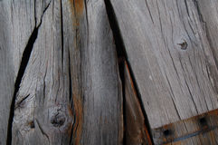 Grey and Brown Wooden Planks Royalty Free Stock Photo