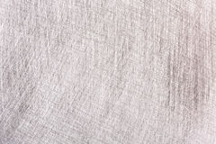 Grey brushed metal plate with multiple scratches texture Stock Photography