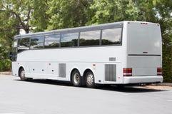 Grey Bus stock photo