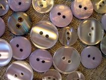 Grey buttons Royalty Free Stock Photos