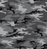 Grey camouflage pattern (seamless) royalty free illustration