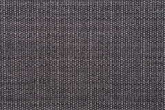 Grey canvas. Closeup detail of texture canvas fabric as background Stock Photography