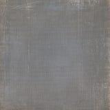 Grey Canvas textur med skrapor Royaltyfri Foto
