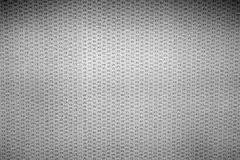 Grey canvas texture or background. Royalty Free Stock Photo