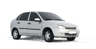Grey car royalty free stock photo