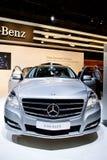 Grey car Mersedes R 500 Stock Photos