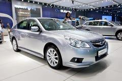 Grey car Subaru  Legacy Royalty Free Stock Image