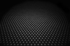 Grey carbon fiber background Royalty Free Stock Image