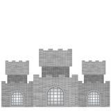 Grey Castle Royalty Free Stock Image