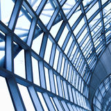 Grey ceiling of office building Stock Images