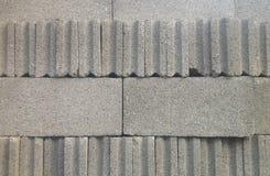 Grey Cement Block Stock Image