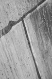 Grey Cement Block Wall photographie stock libre de droits
