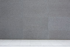 Grey cement wall and floor, abstract background. Grey cement wall and floor, granite concrete tiles, abstract background royalty free stock photos