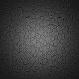 Grey Chaotic Dots Pattern Background oscuro Imágenes de archivo libres de regalías