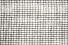 Grey checkered dishtowel backgrounds Stock Photos