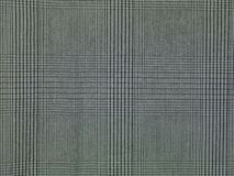 Grey checkered fabric background, close up Royalty Free Stock Images
