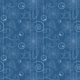 Grey checkered seamless pattern Royalty Free Stock Photos