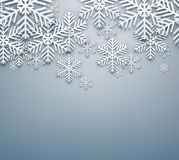Grey christmas background. Royalty Free Stock Photography