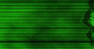Grey and chroma key green screen, horizontal black and white vhs glitch noise background realistic flickering, analog vintage TV