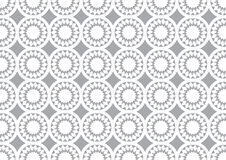 Grey Circle Kaleidoscope Pattern Background pour le papier peint Images libres de droits