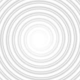 Grey Circle Spiral Striped Abstract tunnel Vektor för EPS 10 Arkivbild