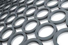 Grey circles Stock Photography